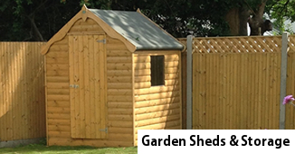 Garden Sheds - Wooden Sheds by Timbertrove