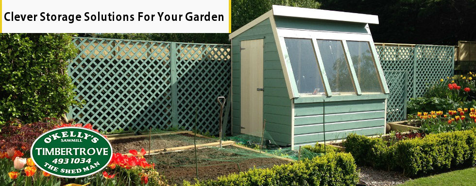Garden Storage Solutions - Wooden Sheds & Storage Units by Timbertrove