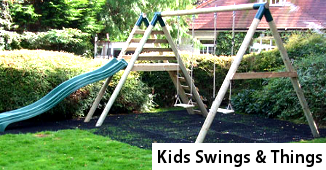 Kids Swings - Kids Slides and Play Units - Timbertrove