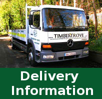 Timbertrove Delivery Information - Garden Sheds - Garden Furniture - Fencing - Decking and More